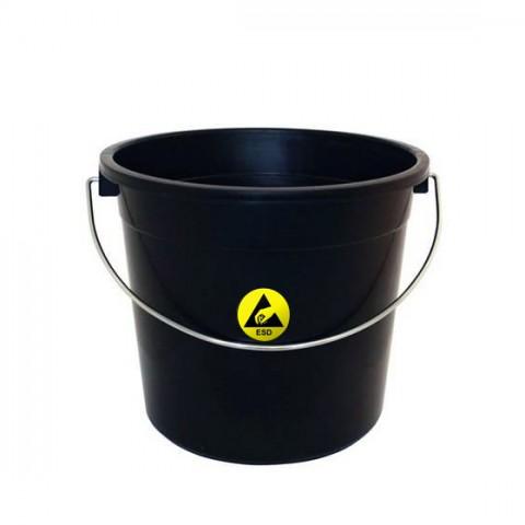 Cubo plástico negro
