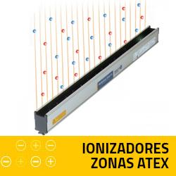 Ionizadores zonas ATEX