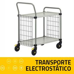 Transporte antielectrostatico